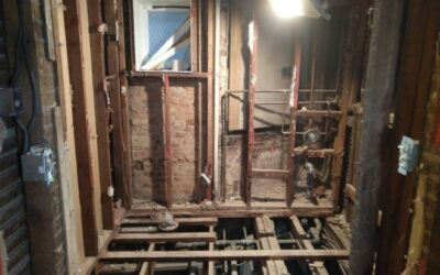 Fixing 1890 building in Bolton Hill, Baltimore MD/ Demolition phase