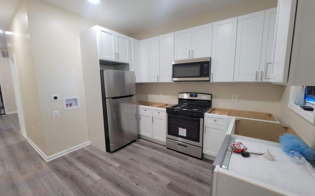 The Finishing Stage of this multi-units in Reservoir Hill/ Baltimore / Mc Culloh part 6